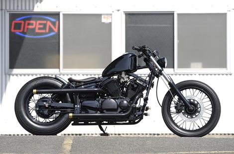 250CCアメリカンなバイクをカスタムしてツーリングに行きましょう?のサムネイル画像