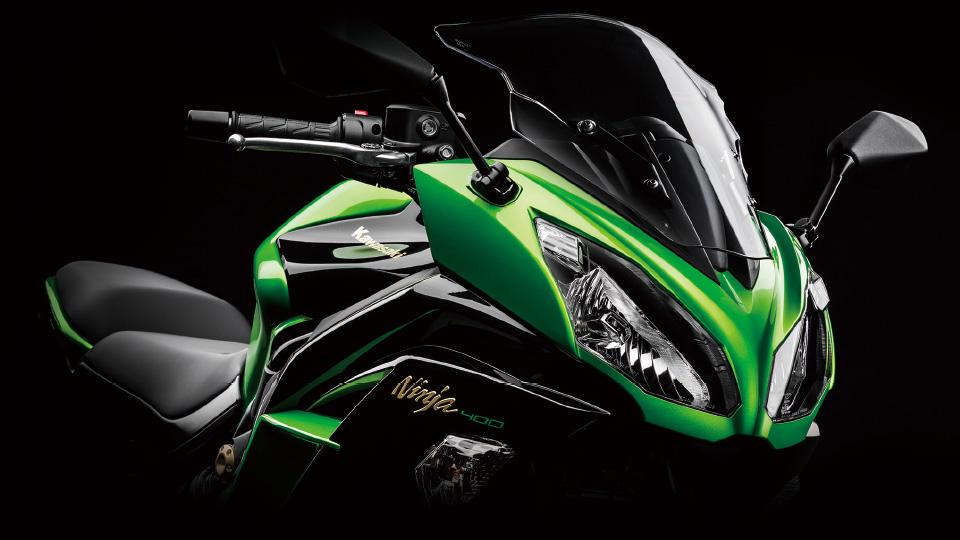 Kawasakiが発売するフルカウルバイク、ninja400のインプレッションのサムネイル画像