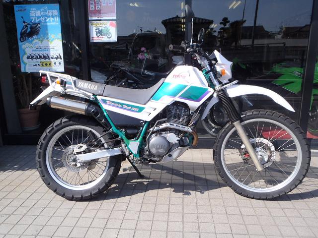ヤマハの超ロングセラーオフロードバイクセロー225をご紹介!のサムネイル画像
