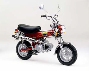 定評の50ccバイク!個性的なスタイリングの 原付レジャーバイクのサムネイル画像