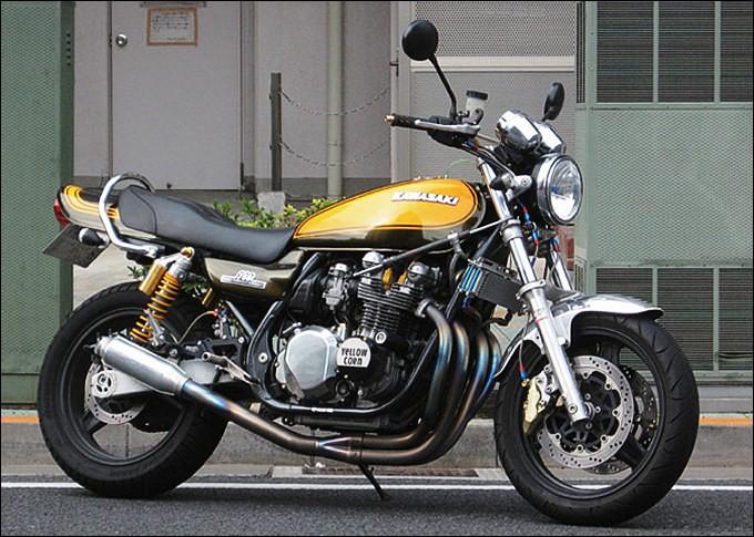 ネイキッドバイク人気の火付け役!ゼファー750のマフラーを調査のサムネイル画像