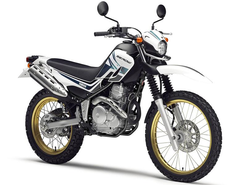 ヤマハのオフロードバイク!セロー250のマフラーを調査してみたのサムネイル画像