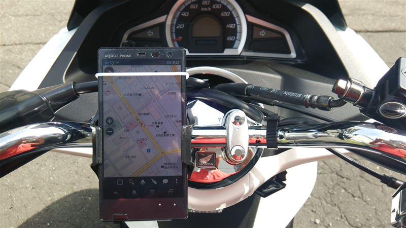 ツーリングに便利で欠かせない物、バイク用スマフォンホルダーまとめのサムネイル画像