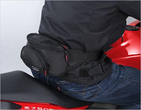 おしゃれ!普段にも使える!バイクのヒップバッグのおすすめはコレ!のサムネイル画像
