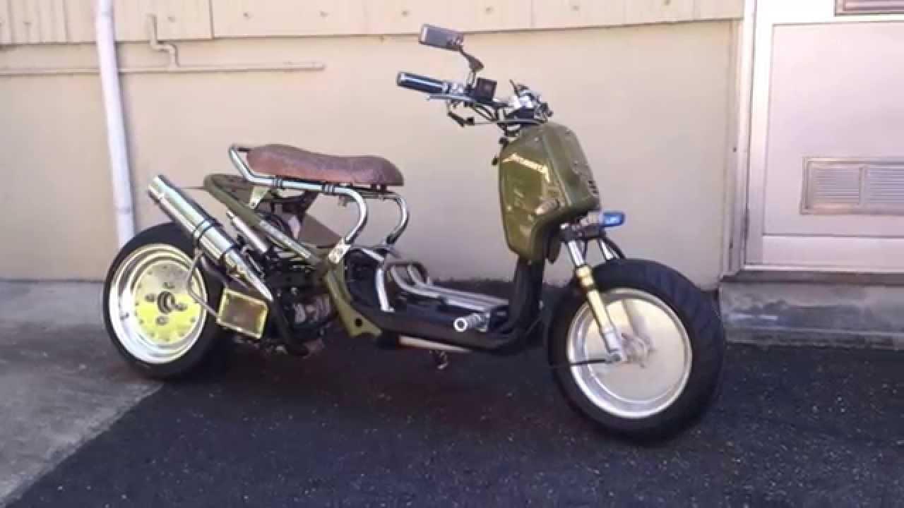遊び心満点のスクーター!ズーマー用シートを調査してみましたのサムネイル画像