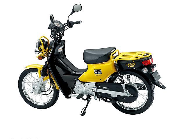 ホンダ・クロスカブのパーツでどのくらい快適なバイクになるのか!?のサムネイル画像