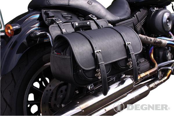 アメリカンバイクにピッタリ!人気の売れ筋サイドバッグをご紹介!のサムネイル画像