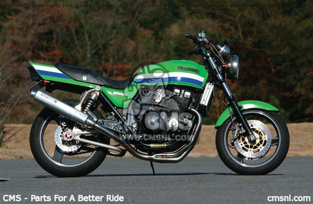 ライバルに差をつけたい!Kawasaki・ZRX400のカスタムパーツまとめのサムネイル画像