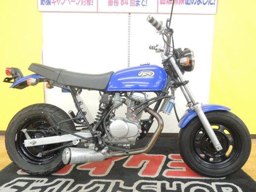 ホンダのお手軽バイク!エイプ100のボアアップを調査してみました!のサムネイル画像