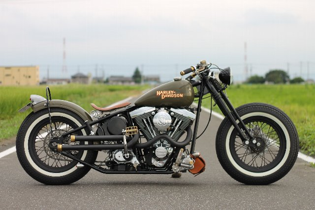 ハーレーにはないバイクの魅力!ハーレー・ボバータイプバイク!のサムネイル画像