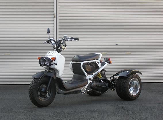 個性的なバイクをさらにカスタマイズ!ズーマートライクの魅力のサムネイル画像