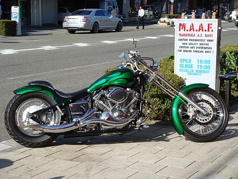 オリジナルあふれるバイクへ!アメリカンバイクをカスタム!のサムネイル画像