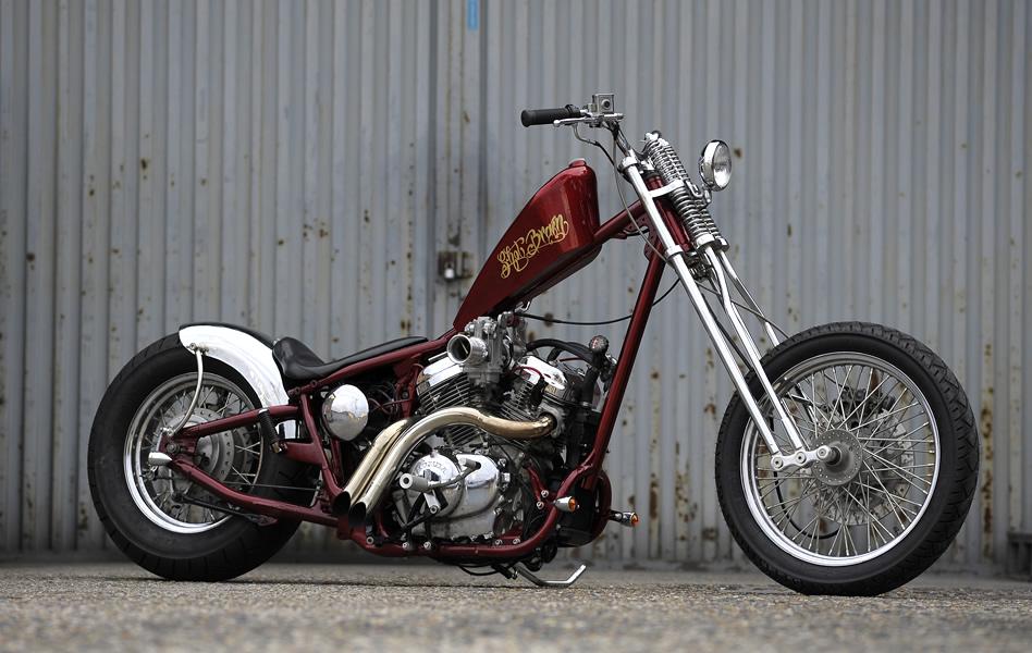 アメリカンバイク!ホンダ・スティードのカスタムパーツを調査!のサムネイル画像