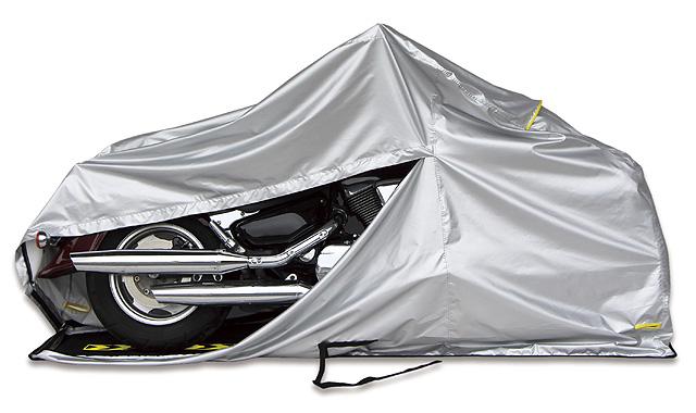 実は種類が豊富なバイクカバー おすすめのバイクカバーをご紹介!のサムネイル画像