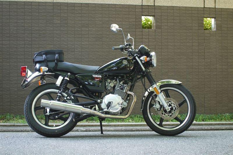カスタムバイクで颯爽と!YB125SPカスタムでツーリングしょう!のサムネイル画像