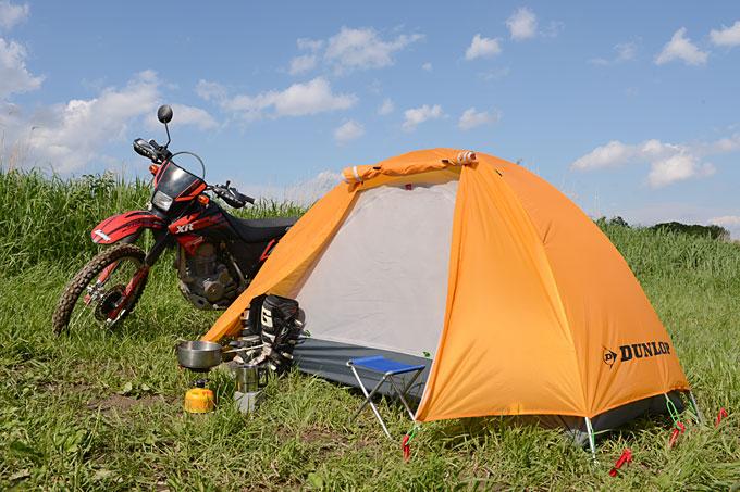 バイク旅のお供!おすすめのツーリングテントとテント選びのコツのサムネイル画像