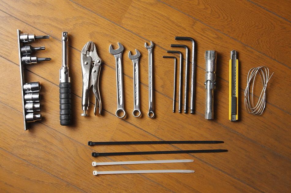 いざという時に便利!バイクの工具についてまとめてみましたのサムネイル画像