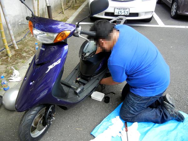 愛車をグ〜ンと長持ちさせる!原付バイクのメンテナンスポイントのサムネイル画像
