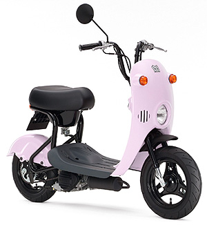 スズキのチョイノリ!そのシンプルかつ個性的なバイクの秘密とは?のサムネイル画像