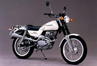 野や山で幅広く楽しめるトレッキング バイク ホンダシルクロードのサムネイル画像