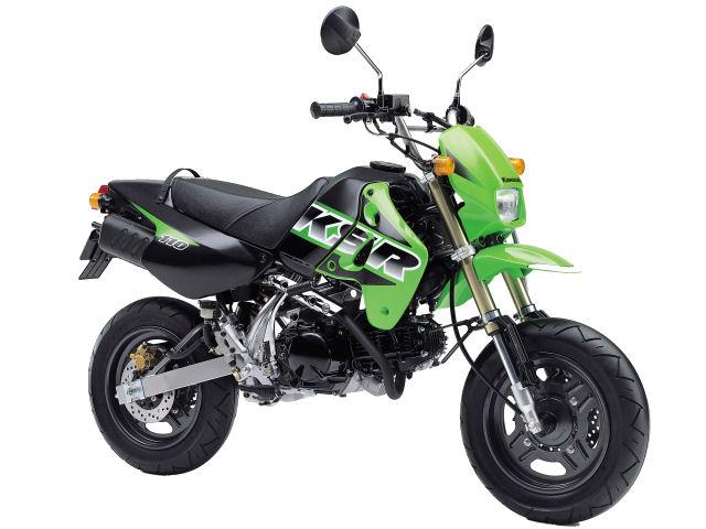 かわいいオフロードバイク!カワサキ KSR110を中古購入する為の知識のサムネイル画像