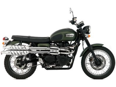 カッコよくて人気のバイク!トライアンフのスクランブラ―をCHECK!のサムネイル画像