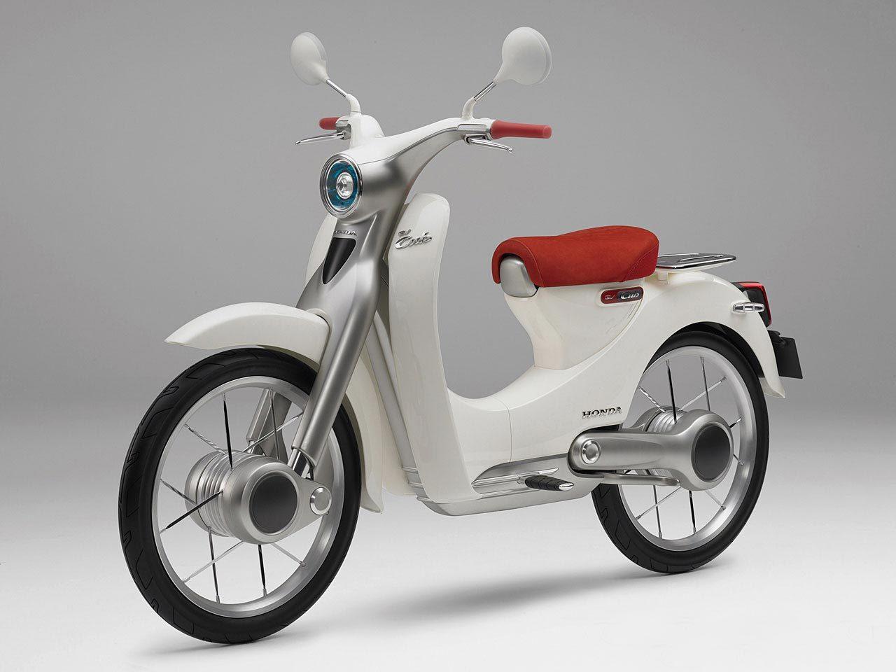 あのカブが電動バイクに!ホンダ・EV-Cub Conceptを世界初公開のサムネイル画像