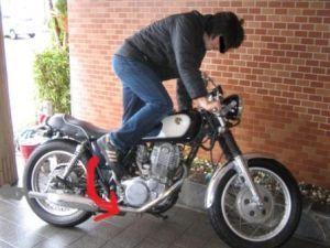あなたのバイクは大丈夫?バッテリーが上がると色々大変ですよの画像