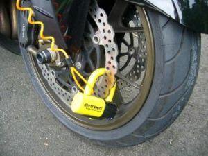 愛車のバイクを守るアイテム!ディスクロックはご存知ですか?の画像
